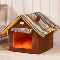 New Fashion Striped Removable Cover Mat Dog House Malaysia
