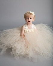 2017 Summer Flower Girl Lace Baby Dresses Country Wedding Dress for Kids