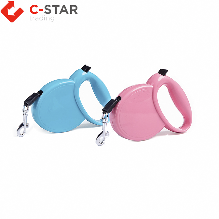 New style strong retractable dog leash for running outdoors