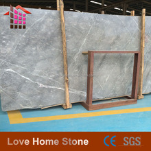 Italian Popular Silver Net Grey Marble Tiles For Hotel Wall