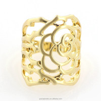 22k gold plated india designer jewellery images ring for women