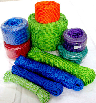 Polythene Rope, PP ROPE, Polypropylene Rope, COLORED