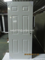 half lite steel entry door slab without glass
