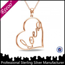 Sterling Silver Faith Hope and Love Necklace Christian Jewelry China