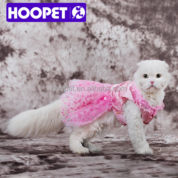 Fashion singlet pet pink princess tutu dog wedding dress dog clothes