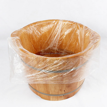 Wholesale cheap price customized transparent disposable foot spa plastic bags