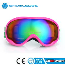 China customized sunglasses CE standard ladies best snow goggles