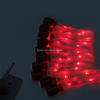 Glow Motion Technologies LED Lighted Up Wristbands Bracelets,Fashion Silicone Wristband Blinking LED