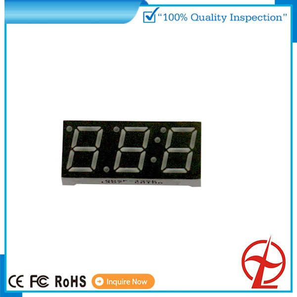 0.4inch 3 dight 7 segment red color led display for gas station