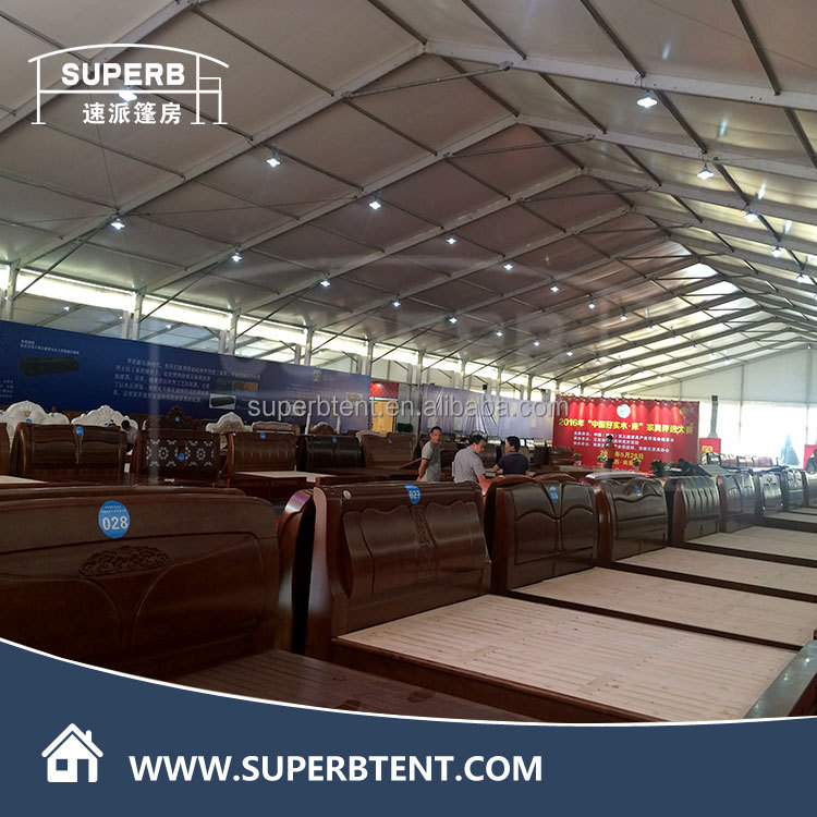 3000 people permanent building tent hard ABS solid wall party tent for event