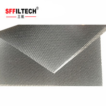 nonwoven dust filter fabric for dust collection bag