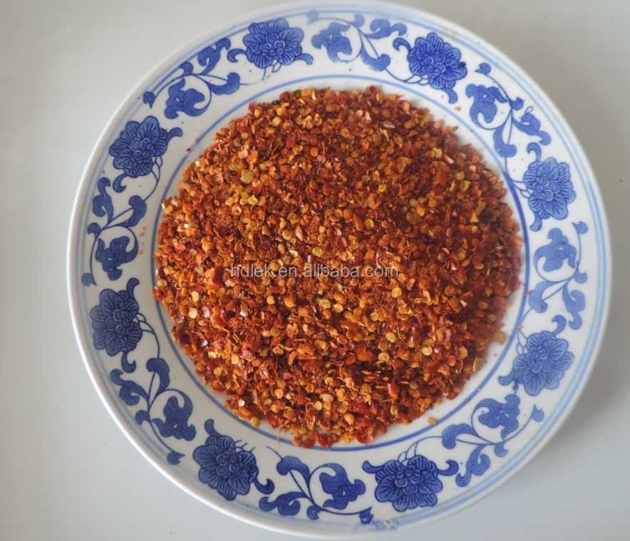 2016 high quality crushed dried red chili