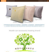 Breathable And Pressure Absorption Space Silk Cotton Square Car Back Pillow