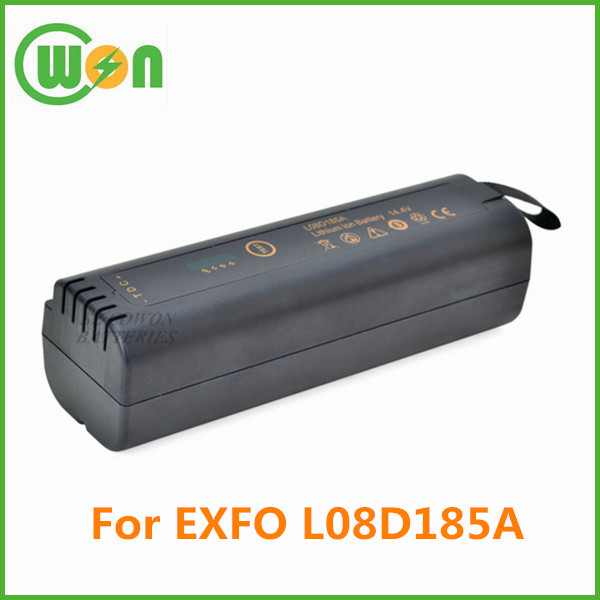 OTDR replacement battery for EXFO L08D185A XW-EX002 XW-EX006 L08D185A L08D185UG FTB-150 FTB-200 14.4V 5200mAh li-ion batteries