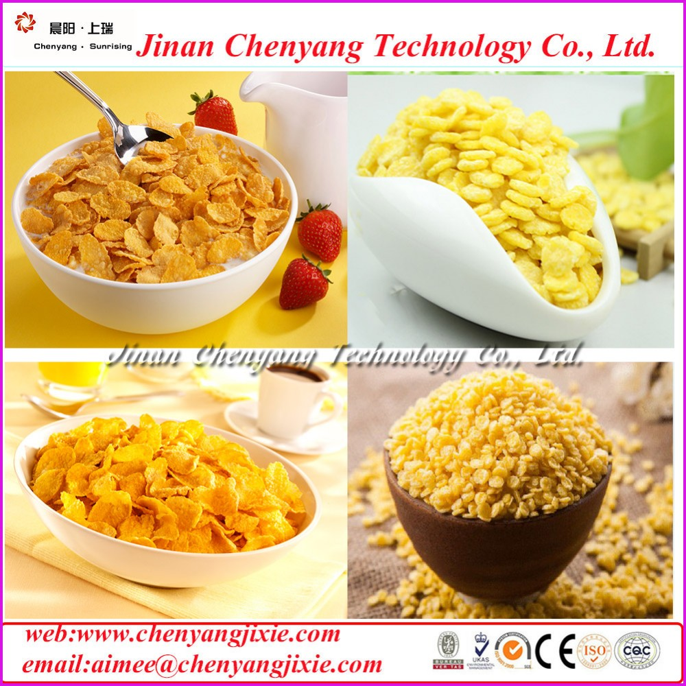 2016 new equipment for breakfast cereals food machine