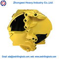 Rotary Double-bottom Double Open Hard Soil rock Drilling Bucket drilling rig