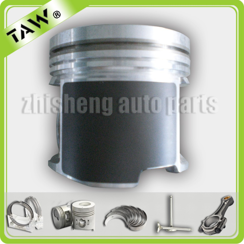 cast aluminum free piston for toyota engine 2kd