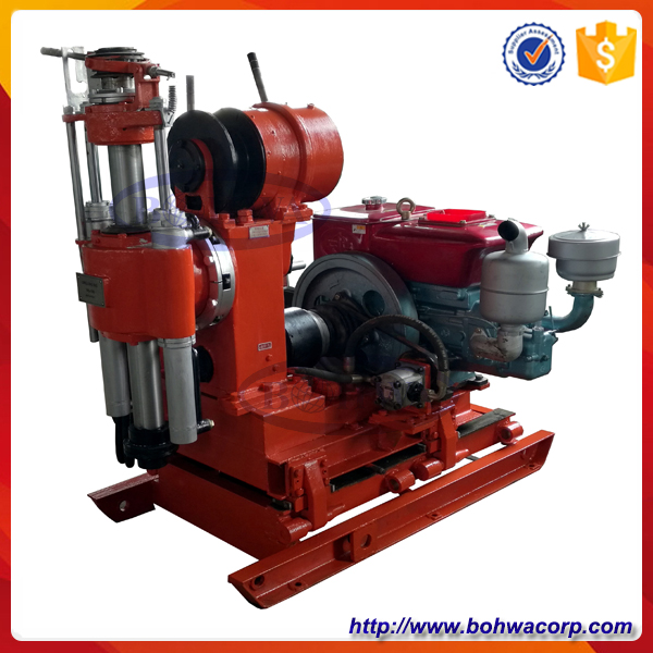 Cheap mini portable rotary diamond core drilling rig with 100m for core drilling water well drilling SPT test