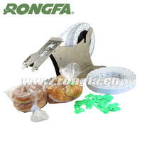Plastic Bread Clips for Supermarket Bag Auto-close Machine