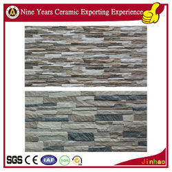 Exterior stone wall tiles decoration