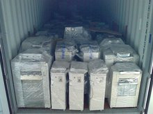 Container of Copiers for Export Color B&W Many Models Available