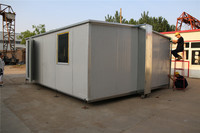 Economical Contemporary Designs 2013 prefabricated folding container house for sales