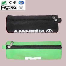 Cylindrical pencil bag custom pencil box pvc pencil case for kids