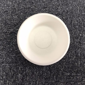 100% Biodegradable & Compostable  Bagasse Pulp Round Bowl