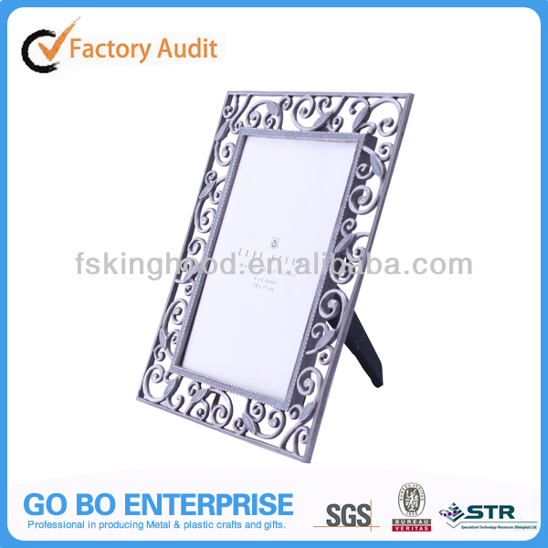 Wholesale 4x6 picture frames antique alloy picture frame