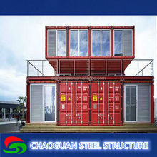 Comfortable steel frame projects of houses of sea container