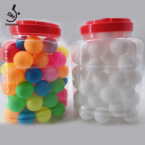 Direct maker selling 40mm PP ball ping pong balls 3 star oem quality ping pong balls outdoor table tennis