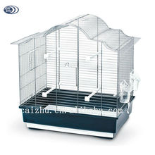 2016 Hot sale indoor household hanging bird breeding cage plastic
