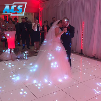light up starlit portable led dance floor from anycase