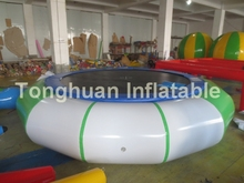 Hot sale inflatable water trampoline/inflatable water bouncer
