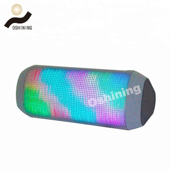 New arrival voice controlled premium wireless multicolor LED speaker