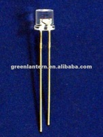 Red 5mm flat top led diodes