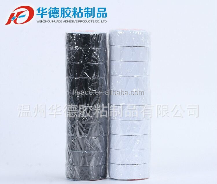 Electrical Insulators Colorful PVC Adhesive Insulation Insulating Tape