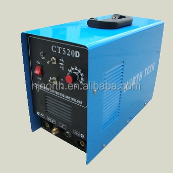 inverter DC TIG/MMA/CUT 160amps welder CT520 wih plasma cutter,3 in 1 welding machine welder generator for sale