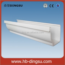PVC Pipe Fittings PVC Rain Gutter Concrete Gutters