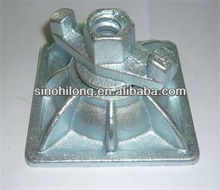 formwork slope plate 1.36kg and galvanized