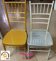Event use cheap stackable iron chair