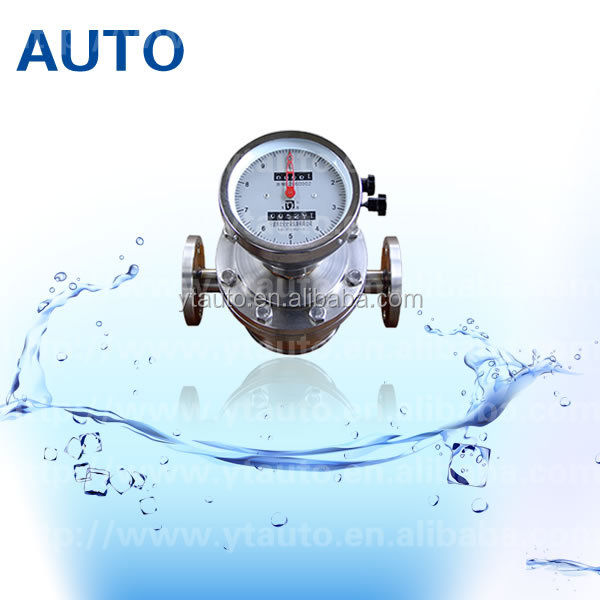Digital diesel oval gear flowmeter fuel flow meter for car