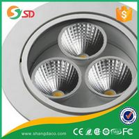 Shangda led downlight 230v dimmable and ip20 waterproof bathroom lighting and fan, bathroom light dubai 50W/60W/70W/80W