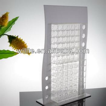 see-through elegant fashionable new lipstick display holder