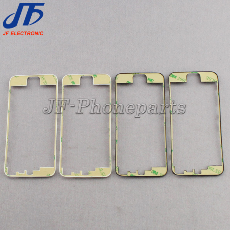 jfphoneparts Frame Bezel With sticker For iPhone 5 5g Front Middle Frame 3M Replacement