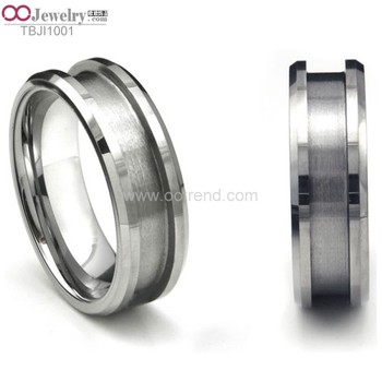 Online ready stock custom titanium ,tungsten ,ceramic ,stainless steel ,cobalt ,blank ring of wood ,oak ,opal,mother of pearl
