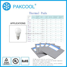 4.0MM conductivity silicone rubber filler with solar usage