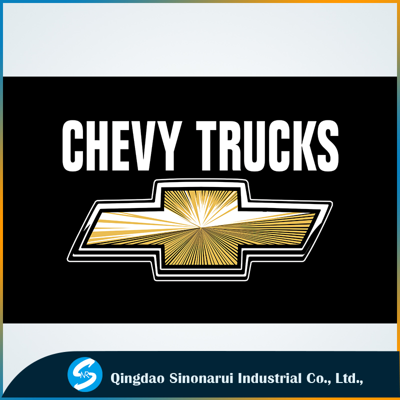 3x5ft polyester flags for Chevy Trucks custom-made <strong>advertisements</strong>