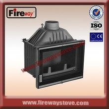 Superior insert wood fireplace