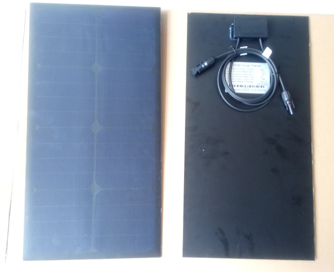 25w solar etfe panel 12v for electric car charger station
